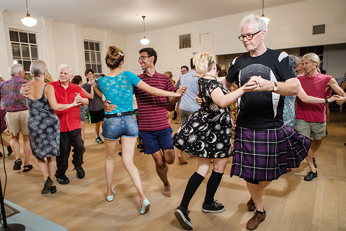 various contra dance attire.https://www.nhmagazine.com/bios/bush/   Kendal J. Bush, Photographer